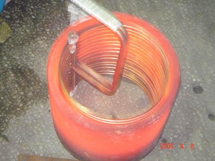 鋼套熱裝(外徑300內徑270,高度300mm的鋼管整體加熱