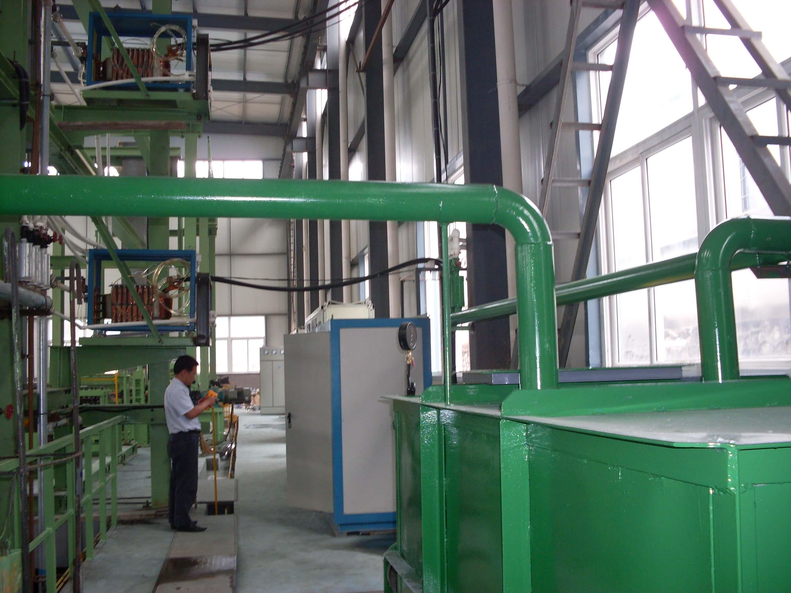 400KW钢带热处理生产线