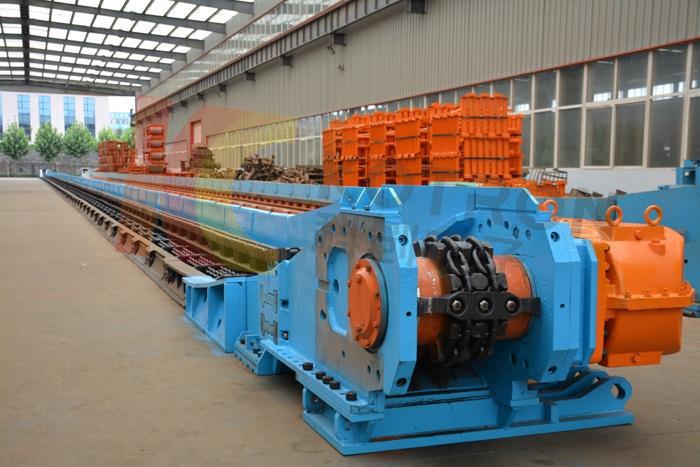 重型刮板輸送機鏈輪感應熱處理替代傳統火焰熱處理